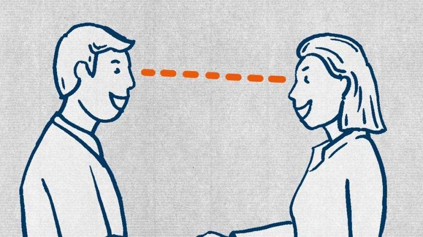 Всегда смотрите человеку, с которым вы говорите в глаза