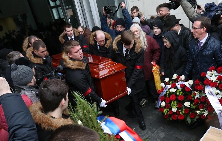 Похороны Натальи Крачковской