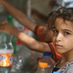 Проблема нехватки воды все серьезнее бьет по палестинцам.