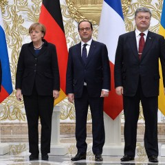 Normandy Four leaders call to implement Minsk deal in full — Elysee Palace