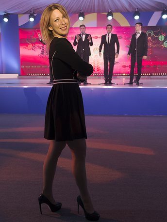 Russian Foreign Ministry spokesperson Maria Zakharova dances at a reception in honour of heads of delegations taking part in 2016 ASEAN-Russia summit in Sochi, Russia, May 19, 2016. Mikhail Japaridze/TASS Ðîññèÿ. Ñî÷è. 19 ìàÿ 2016. Äèðåêòîð äåïàðòàìåíòà èíôîðìàöèè è ïå÷àòè ìèíèñòåðñòâà èíîñòðàííûõ äåë ÐÔ Ìàðèÿ Çàõàðîâà âî âðåìÿ òàíöà íà òîðæåñòâåííîì ïðèåìå â ÷åñòü ãëàâ äåëåãàöèé - ó÷àñòíèêîâ ñàììèòà Ðîññèÿ — ÀÑÅÀÍ. Ìèõàèë Äæàïàðèäçå/ÒÀÑÑ