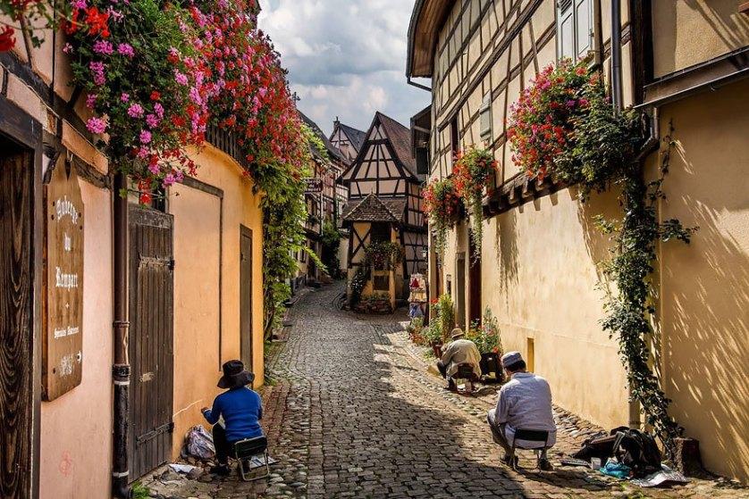 Эгисхайм, Франция