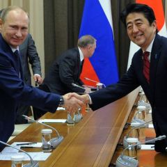 Japan's Leader Visits Russia Breaking Ranks with US