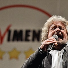 Italy's resurgent 5-star movement pushes for referendum on euro