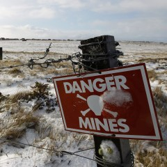 Russian specialists start mine clearance in South Ossetia