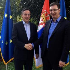 Serbia told not to block Kosovo, adopt EU's Russia position