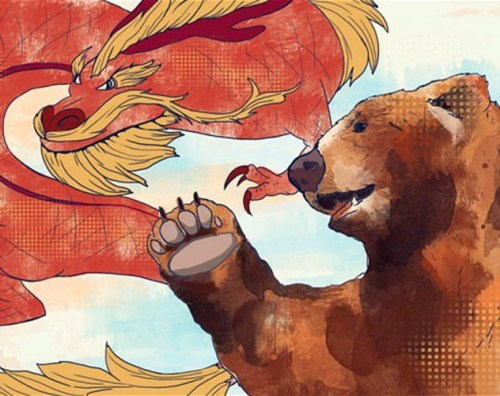Chinese Dragon Russian Bear