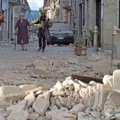 Землетрясение в Италии повредило или разрушило почти 300 исторических домов