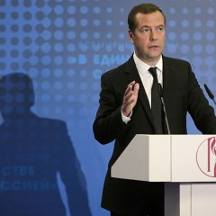 Medvedev: 'Russia never leaves it's compatriots behind the red line'