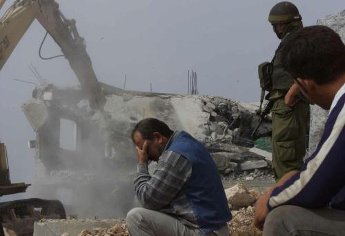 Palestinian homes demolished