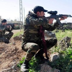 Fortified positions for terrorists destroyed in Daraa
