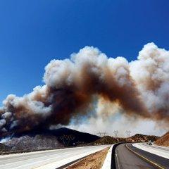 В Калифорнии из-за лесных пожаров сгорели около 300 домов