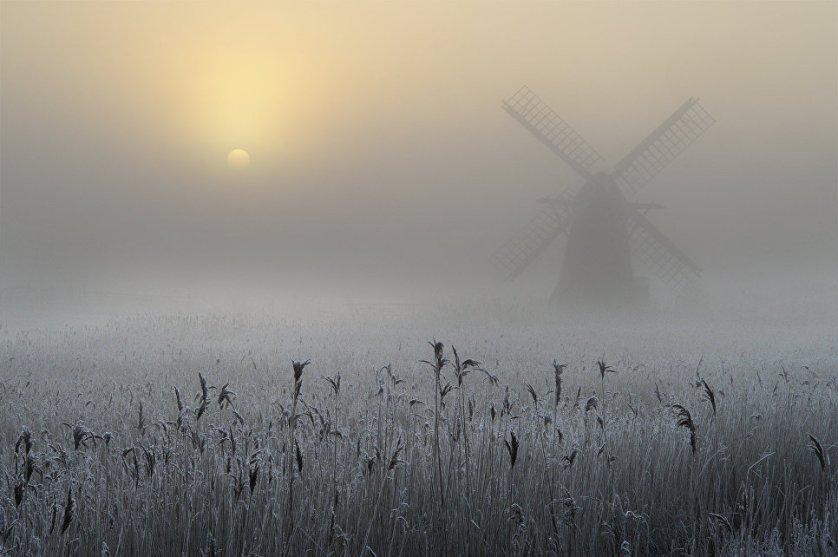 """""""Замороженный туман"""" в Восточной Англии принес Эндрю Бэйли третье место в категории """"Старше 16 лет""""."""