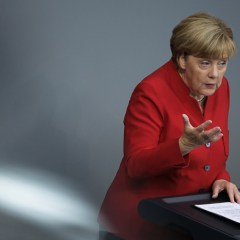 Merkel says EU is 'in critical condition'