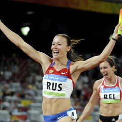 Russian athlete won't challenge IOC decision to strip her of Olympic gold