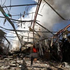 Human Rights Watch: Saudi-Led Funeral Attack in Yemen Apparent War Crime