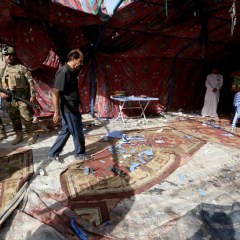 Suicide bombing kills 10 at security check-point south of Baghdad