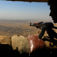 IS drone kills Kurdish fighters, hurts French troops