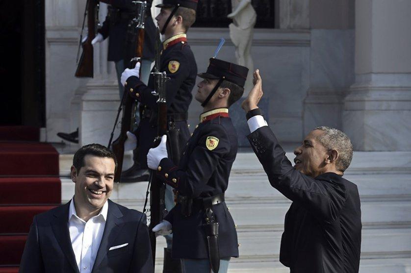 США Барак Обама во вторник прибыл в Афины с двухдневным визитом. Президент США поздравил премьер-министра Греции Алексиса Ципраса с проведением реформ, которые, по его словам, сделают экономику более конкурентоспособной.