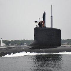 Американская подлодка «Джорджия» зашла на базу США на Крите