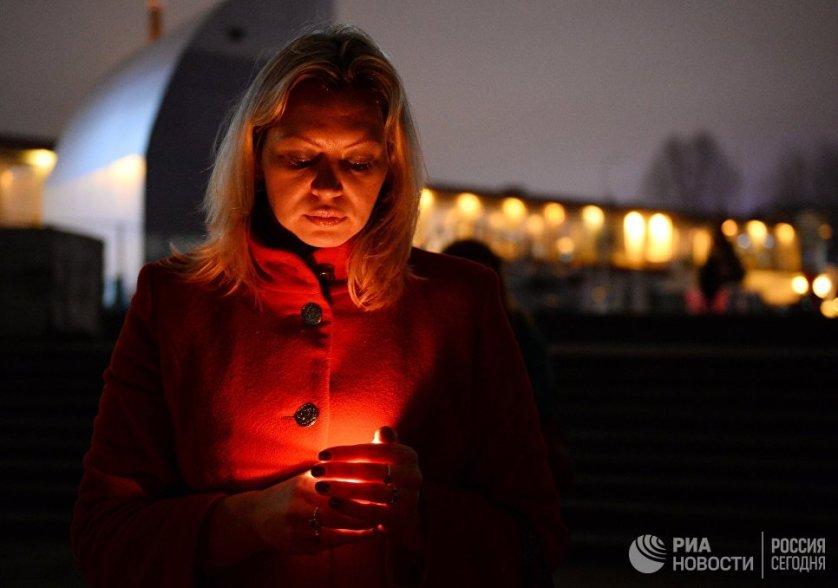 В понедельник в 9 утра в аэропорту Сочи прошёл молебен о погибших в авиакатастрофе Ту-154.