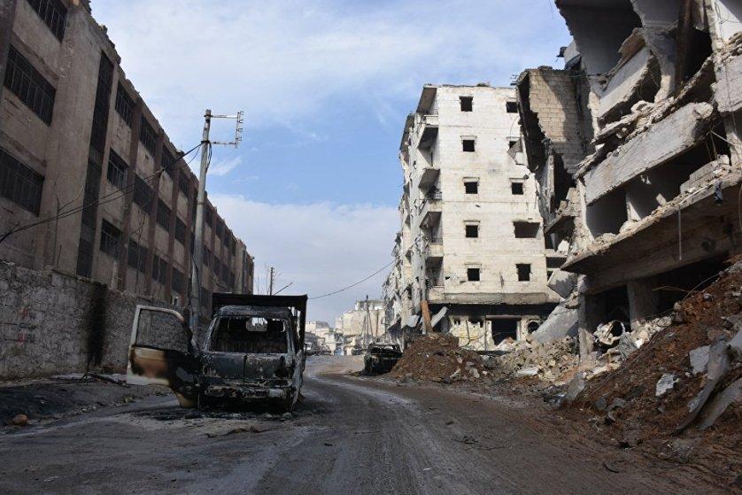 Алеппо — второй по величине город Сирии. До начала сирийского конфликта являлся экономической столицей страны и крупнейшим промышленным центром.