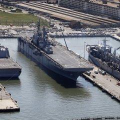 Что десантные корабли США делают у берегов Сирии