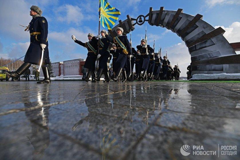 Прощание с погибшими при крушении самолета Ту-154 в Черном море состоялась в понедельник.