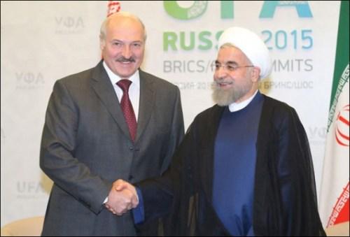Александр Лукашенко имеет давние виды на иранскую нефть.