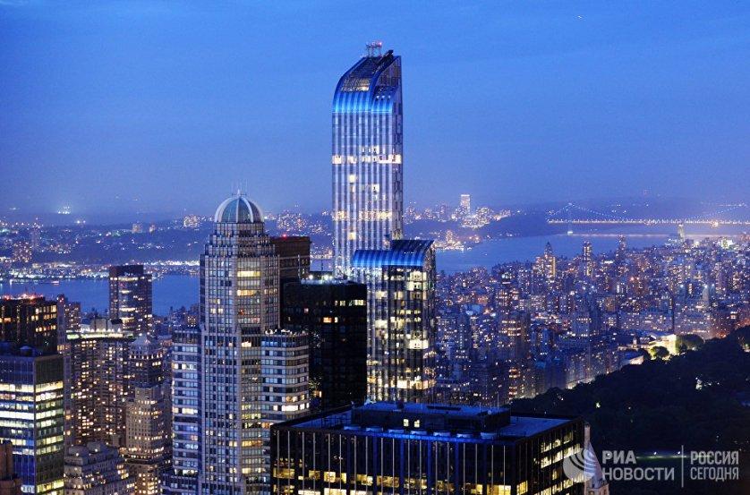 Нью-Йорк, США.