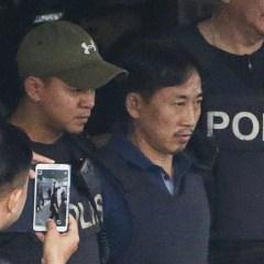 В аэропорту Пекина подозреваемого в убийстве Ким Чен Нама увела полиция