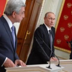 Президент Армении посетит 14 марта Москву с официальным визитом