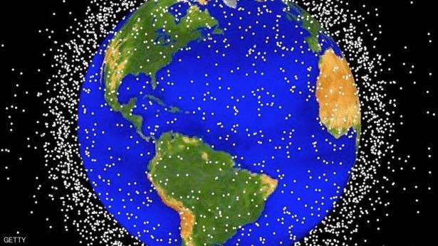 """النفايات الفضائية"""" حول الأرض أخطر مما نتوقع"""