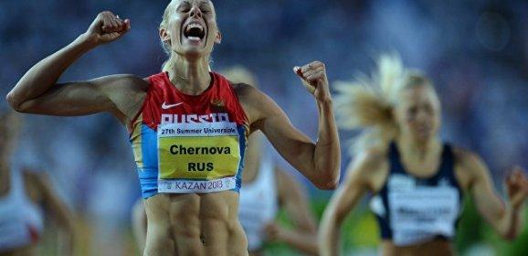 Российскую легкоатлетку Чернову лишили бронзовой медали Игр-2008 в Пекине