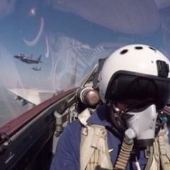 تحليقات مميزة للمقاتلات الروسية استعدادا للعرض العسكري