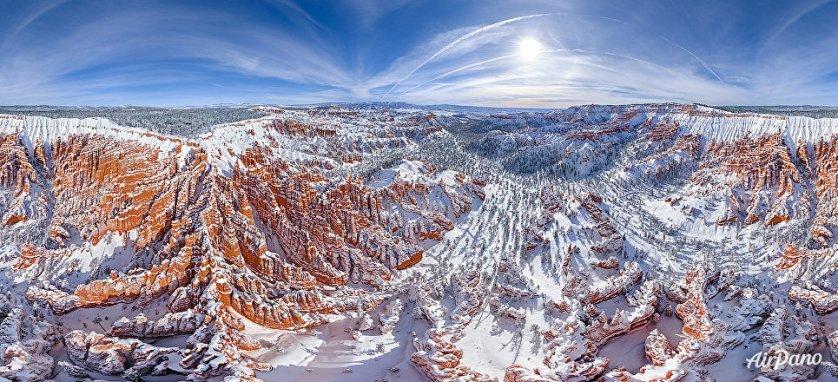 Национальный парк Брайс-Каньон на юго-западе штата Юта в США.