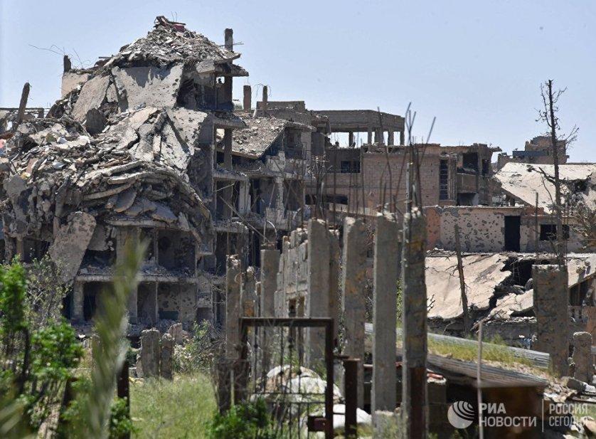 Здания, находящиеся под контролем боевиков.