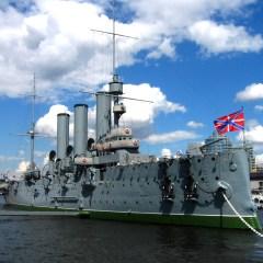 На крейсере «Аврора» открылась «Выставка замурованных вождей»