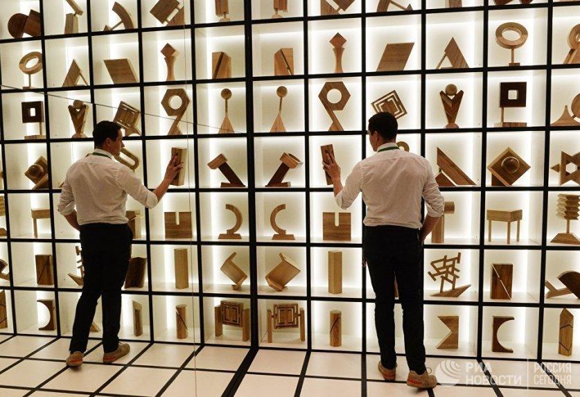 افتتاح معرض فن العمارة في موسكو