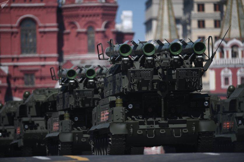 BUK-M2 air defense missile systems