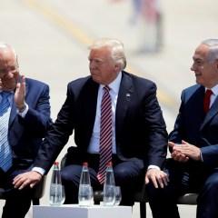 InoPressa (тема дня): Трамп в Израиле: заявления и реальная политика
