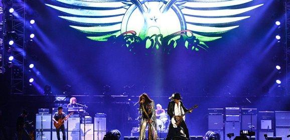 Aerosmith отыграли прощальный концерт в Москве