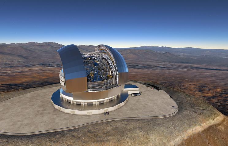 В Чили начали возведение крупнейшего в мире телескопа EELT