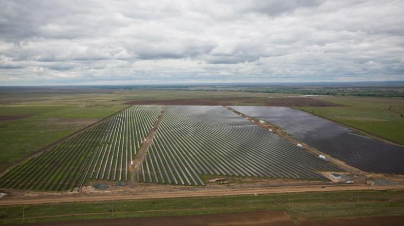 В Оренбургской области запустили еще одну солнечную электростанцию