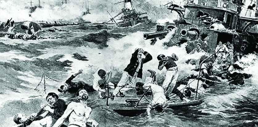 «Честный князь украл броненосцы», или Как утонула империя. К 112-летию Цусимы