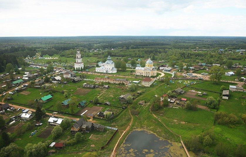 В этом году из Кирова вышли 28 тысяч паломников. Всего в шествии участвовали 75 тысяч человек.