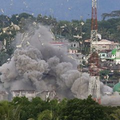 В Марави боевики убили 13 филиппинских пехотинцев
