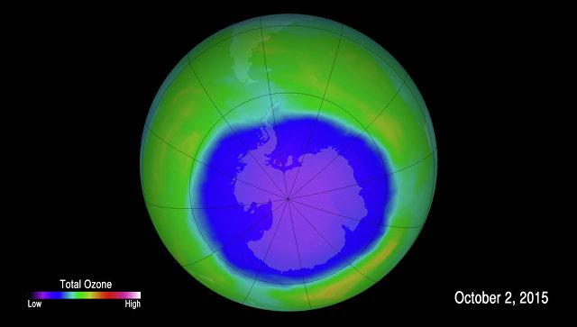 Ученые: восстановление озонового слоя над Антарктикой резко замедлилось