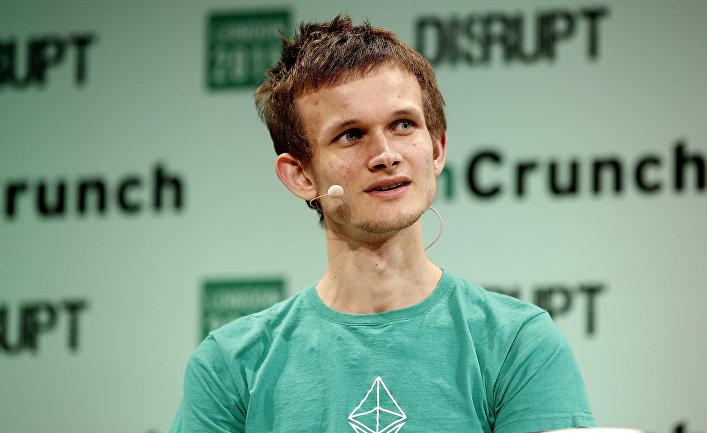 Русский программист, создатель эфириума Виталик Бутерин