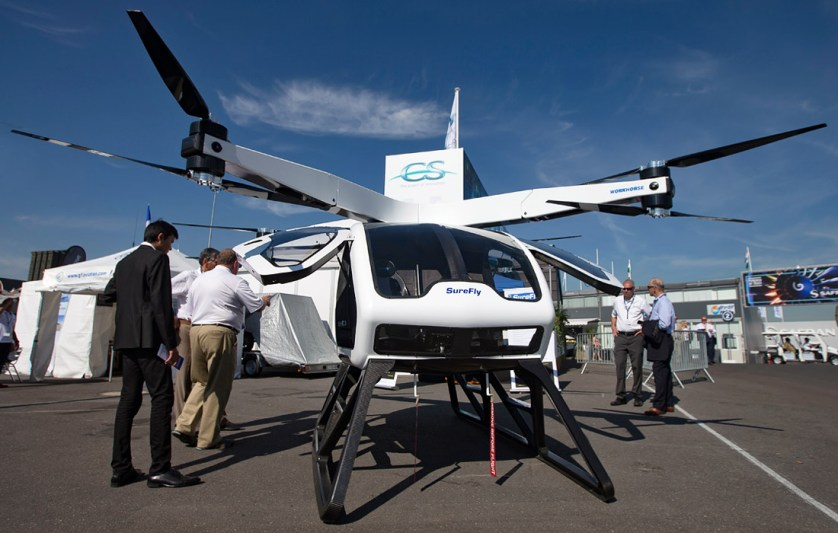 Электрический вертолет SureFly компании Workhorse (США)